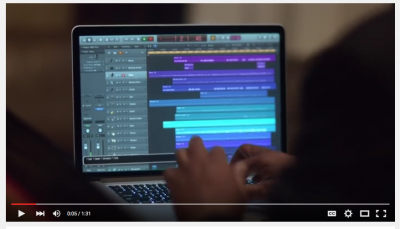 Stevie Wonder using Logic Pro X