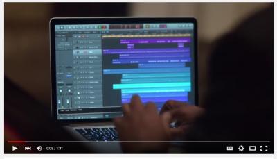 Stevie Wonder using Logic Pro X