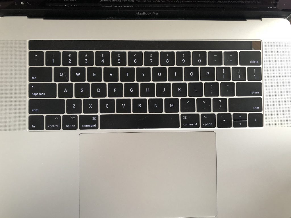 MacBook Pro, newer model purchased in 2017